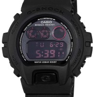 Casio G-Shock - 3230 1ADR - Full Black Strap Rubber Pria