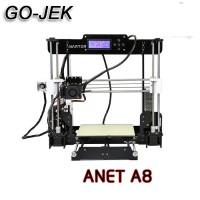 3D Printer Prusa I3 DIY DESKTOP PRINTER ANET A8 khusus GOJEK