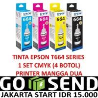 TINTA EPSON T6641 6642 6643 6644 L100 L120 L300 L310 L350 L360 L365