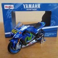 Diecast Miniatur Motor Gp Yamaha Movistar Valentino Rossi Motogp 2016
