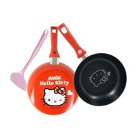 Jual Frypan Maxim Hello Kitty 24 cm + Spatula , Wajan Kuali Pengorengan Murah