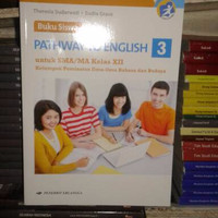 Buku, Buku Siswa Pathway To English 3 SMA/MA XII Peminatan Bahasa Kur
