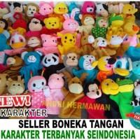 Jual Hand Puppet Boneka Tangan Karakter Hewan& Disney Murah