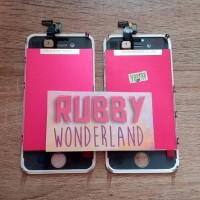 Jual LCD + Touchscreen + Frame iPhone 4 / 4s Original 100% Bergaransi Murah