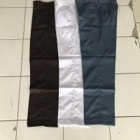 Celana panjang SMA (Abu, Putih, coklat) no 29 , 30 Drill