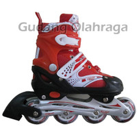 Sepatu Roda Inline Skate POWER SUPERB Red Murah