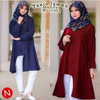 Murah  58239/baju tunik wanita/atasan bigsize/baju jumbo/baju muslim