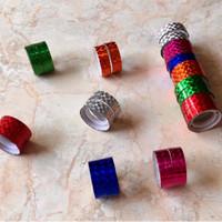 Selotip/ Solasi Plastik Bling Bling Warna Warni