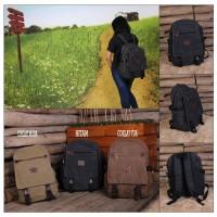 Jual Tas Ransel - Bodypack  Bahan Kanvas - Trendy Murah