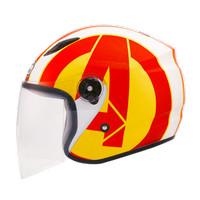 Helm Bmc Milan Avenger Iron Man DOT-SNI Unik Simple Murah Aman Terbaru