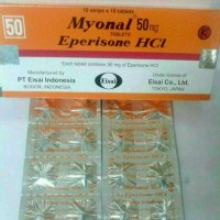 Myonal 50mg/Eperisone HCI Eceran