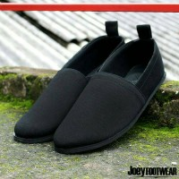 SEPATU SLIP ON CASUAL PRIA JOEY BLUR BLACK ORIGINAL BRANDED PREMIUM