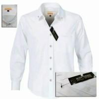 Jual Baju formal putih polos | Kemeja formal pria | Baju Kantor Murah
