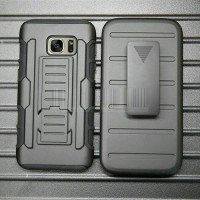 SAMSUNG GALAXY S6 ACTIVE Impact Armor Belt Clip Holster Case Casing