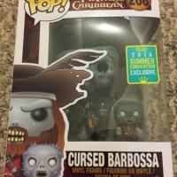 Jual Funko Pop Pirates Of Caribbean Cursed Barbossa SDCC 2016 Exclusive Vin Murah
