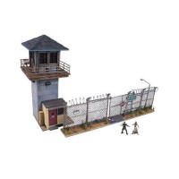 NEW The Walking Dead TV Prison Tower & Gate Amazing Building Set by Mc
