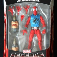 "SCARLET SPIDER MARVEL LEGENDS INFINITE SERIES SPIDER-MAN HASBRO 6"" ACT"