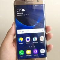 Samsung Galaxy S7 Edge Single SIM Original Second Like New Fullset