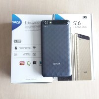 SPC Smartphone S16 Diamond - Dark Blue Free Case