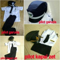 baju /seragam pilot (anak)