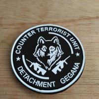 Jual patch rubber patch GEGANA terrorist unit Murah