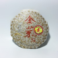 Chinese Tea Jin Ya Pu Er Tea Tahun 2009 Grade A / Teh Pu Er 100g