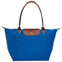 Longchamp Le Pliage Tote Bag Nylon Large Classic Indigo Blue Authentic
