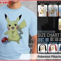 Pokemon Pikachu 6 TX - BAJU KAOS DISTRO PRIA WANITA ANAK OCEAN SEVEN