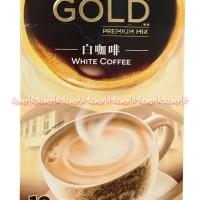 Nescafe Gold Premium Mix White Coffee Kopi Bubuk Coffee Instan Isi 10