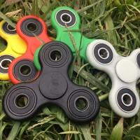 Jual Hand Fidget Spinner Cube Authentic Toys Plastic Kualitas Import Murah