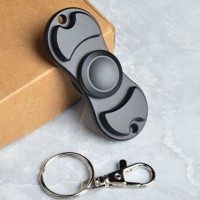 Jual Fidget Hand Spinner Cube Toys Alumunium Hitam Biru Murah
