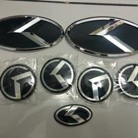 Kia new Sorento Emblem new Kia baru. K racing
