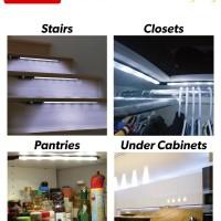 UnderLight/lampu kamar/lampu meja/lampu dinding/lampu lemari/dapur/LED