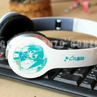 headphone anime Hatsune miku vocaloid
