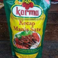 Kecap Manis Sate Cap Korma 625 ml