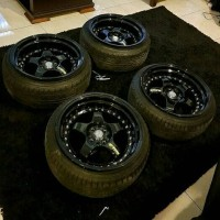 Velg (include ban) Rep. Work Meister S1 Repaint black (2nd)
