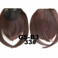 Jual Hair Clip Poni Brown Murah