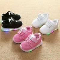 Sepatu LED anak laki - laki / perempuan