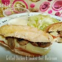 harga Grilled Chicken Smoked Beef & Mushroom With Cream Sauce Keto Tokopedia.com