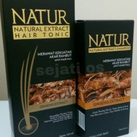 Paket Natur Hair Tonic Ginseng & shampoo