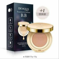 Jual BIOAQUA BB GOLD LIQUID CUSHION EXQUISITE & DELICATED PLUS REFILL 15GR Murah
