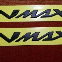 Jual Emblem Nmax Hitam Doff Murah