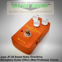 Efek Gitar Joyo JF-36 / Joyo Sweet Baby Overdrive Mad Professor Clone
