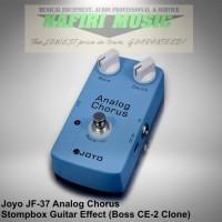 Efek Gitar Joyo JF-37 / Joyo Analog Chorus (Boss CE-2 Clone) baru