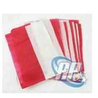 Jual bendera merah putih plastik + tali / HUT RI / bendera indonesia Murah