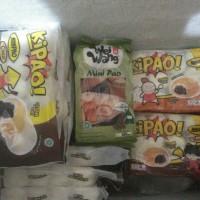 Jual bakpao mini isi coklat, kacang ijo, kacang merah, ayam( steam or fry ) Murah
