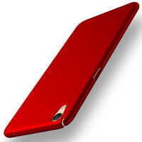 Casing HP cover OPPO F1 Plus/R9 Baby Skin Ultra Thin Hard Case Red