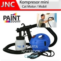 BEST.! Kompresor Mini+Spray Gun Cat Duco/Airbrush Dll / Motor / Mobil