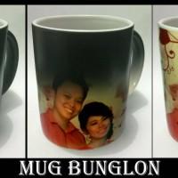 souvenir ulang tahun , kado valentine / anniversary mug bunglon unik