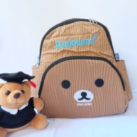 Jual Tas Ransel Mini Backpack Rilakuma Brown Murah